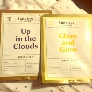 Timeless Beauty Bar sheet face masks (add on only)